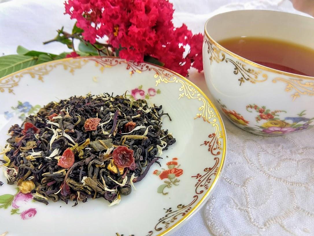 Pomegranate Vanilla: Black Teas, Seasonal: Winter