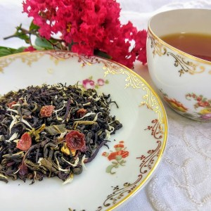 Pomegranate Vanilla: Black Teas, Seasonal: Winter