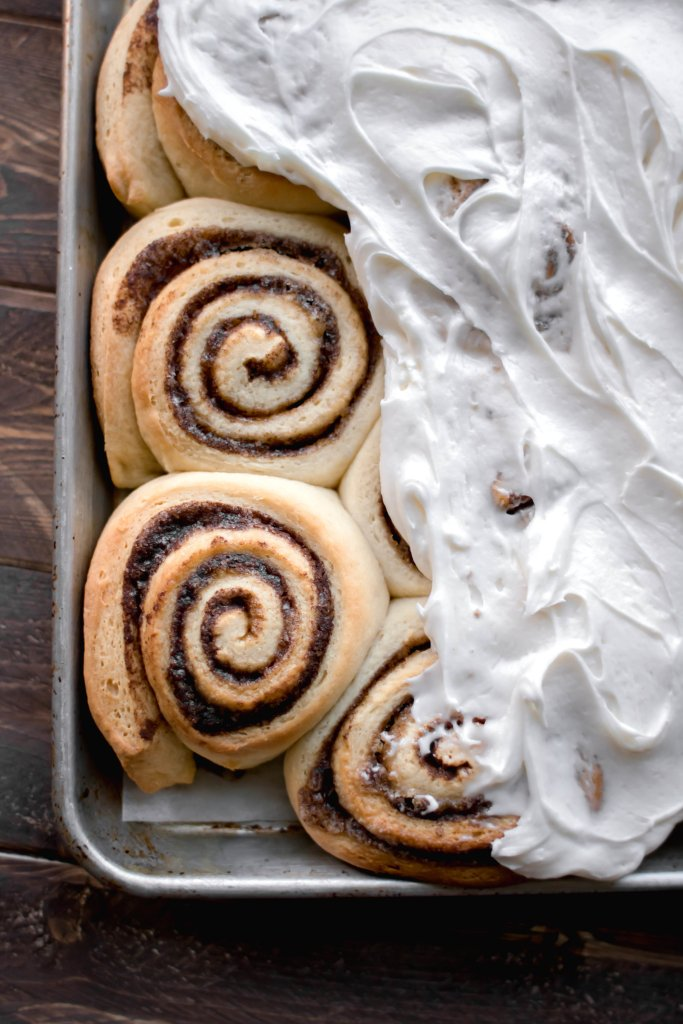 the very best cinnamon rolls