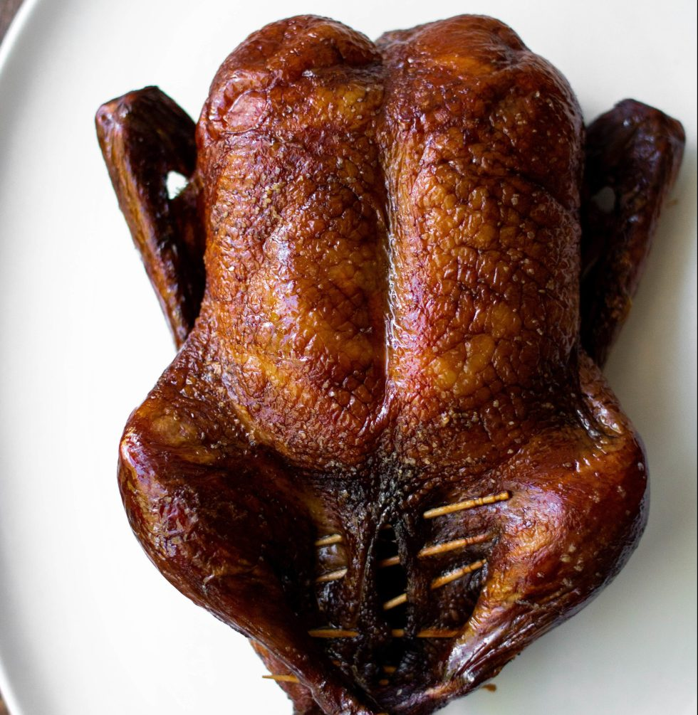 soy and black tea roasted duck