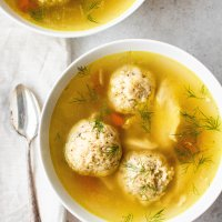 instant pot matzo ball soup