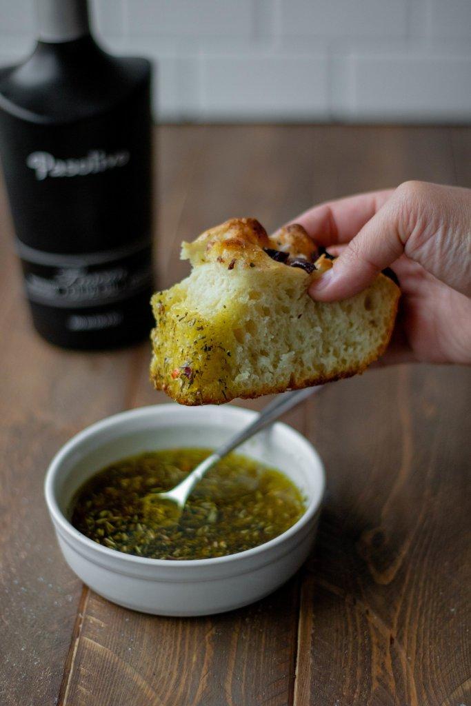 no knead focaccia bread
