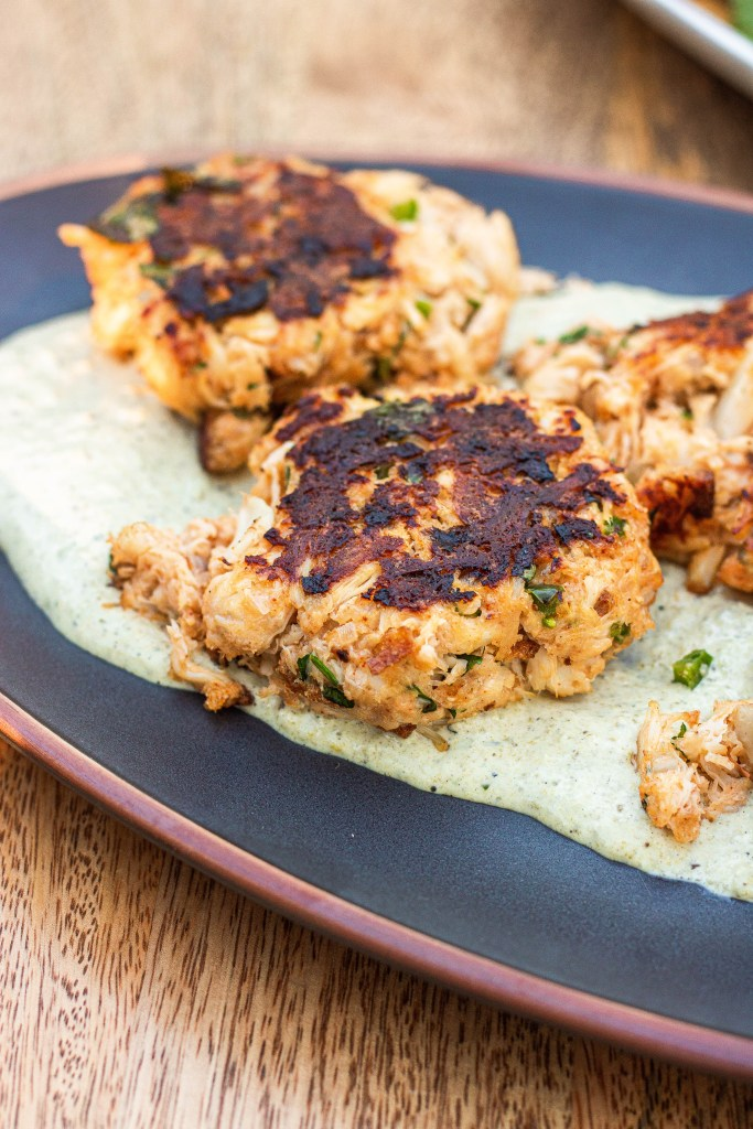 Mexican crab cakes