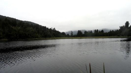 Foggy Lake Matheson View