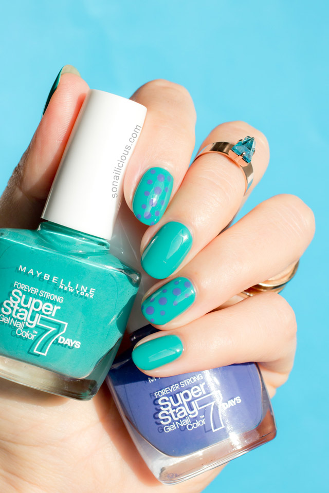 Maybelline Superstay Gel Nail Color Polish Review Swatches