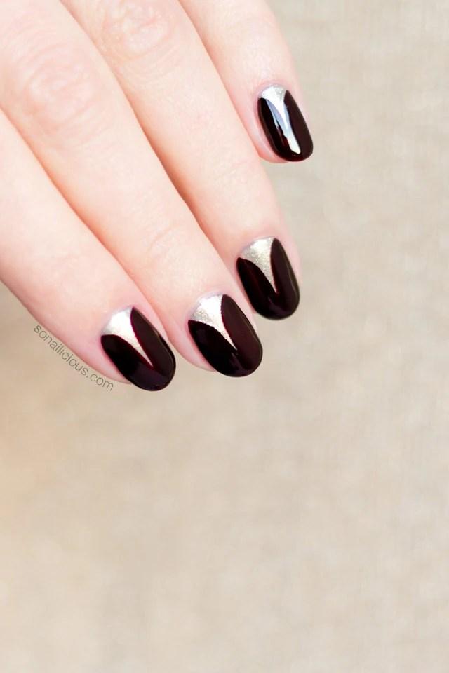 Elegant Nail Art Short Nails