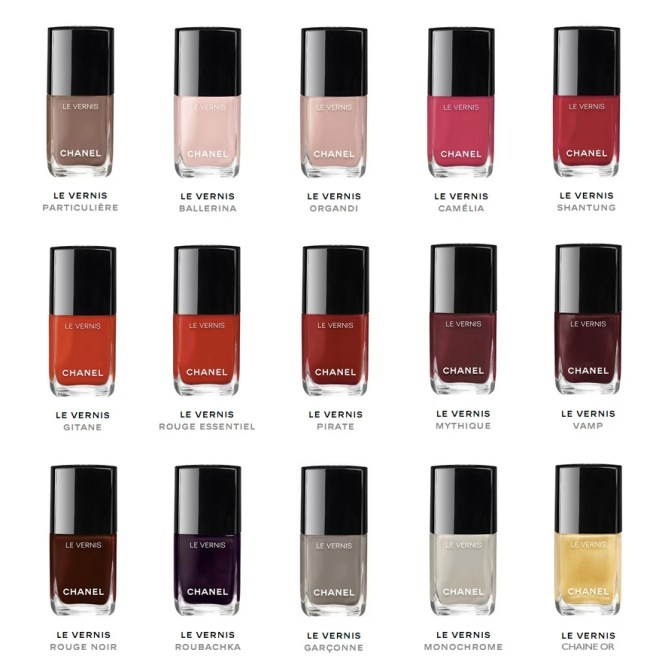 Chanel Longwear Nail Color Polish Le Vernis Review