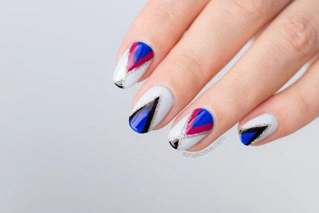 Nails Of The Day Experimental Geometric Design