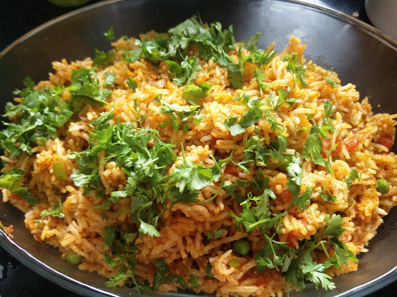 Tawa Pulao Sonal S Jain Kitchen