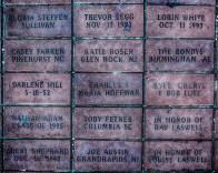 Carved bricks@Centennial Olympic Park