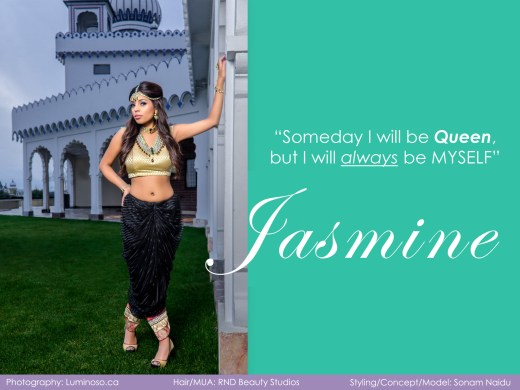 Princess Jasmine Editorial