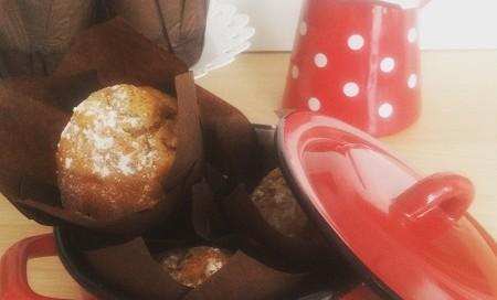 Receta de Muffins de manzana y canela