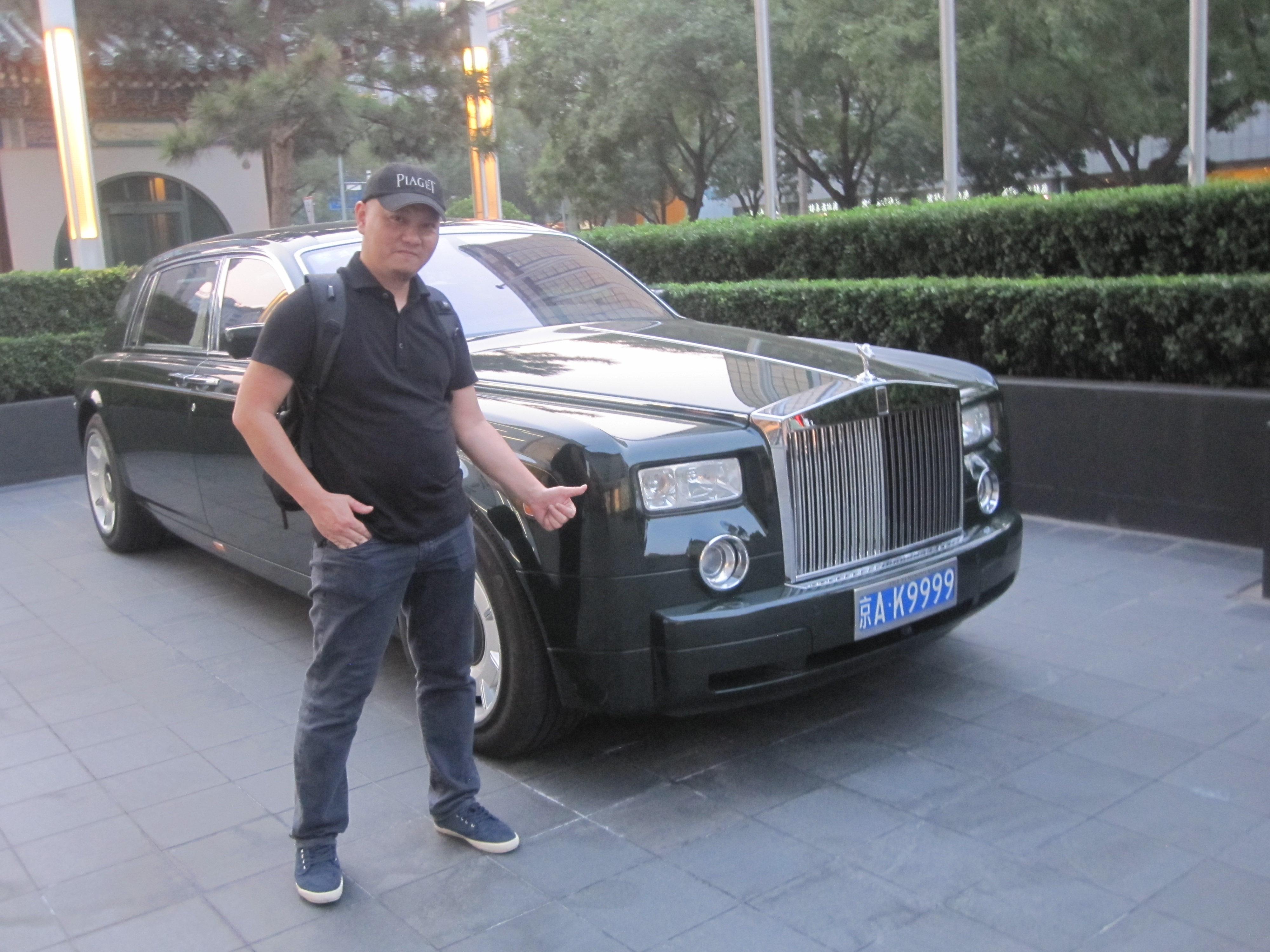 BEIJING TIME CITY   SondAuto s Blog Beijing The Peninsula Beijing Rolls Royce Phantom Green SondAuto                                                   IMG 7970