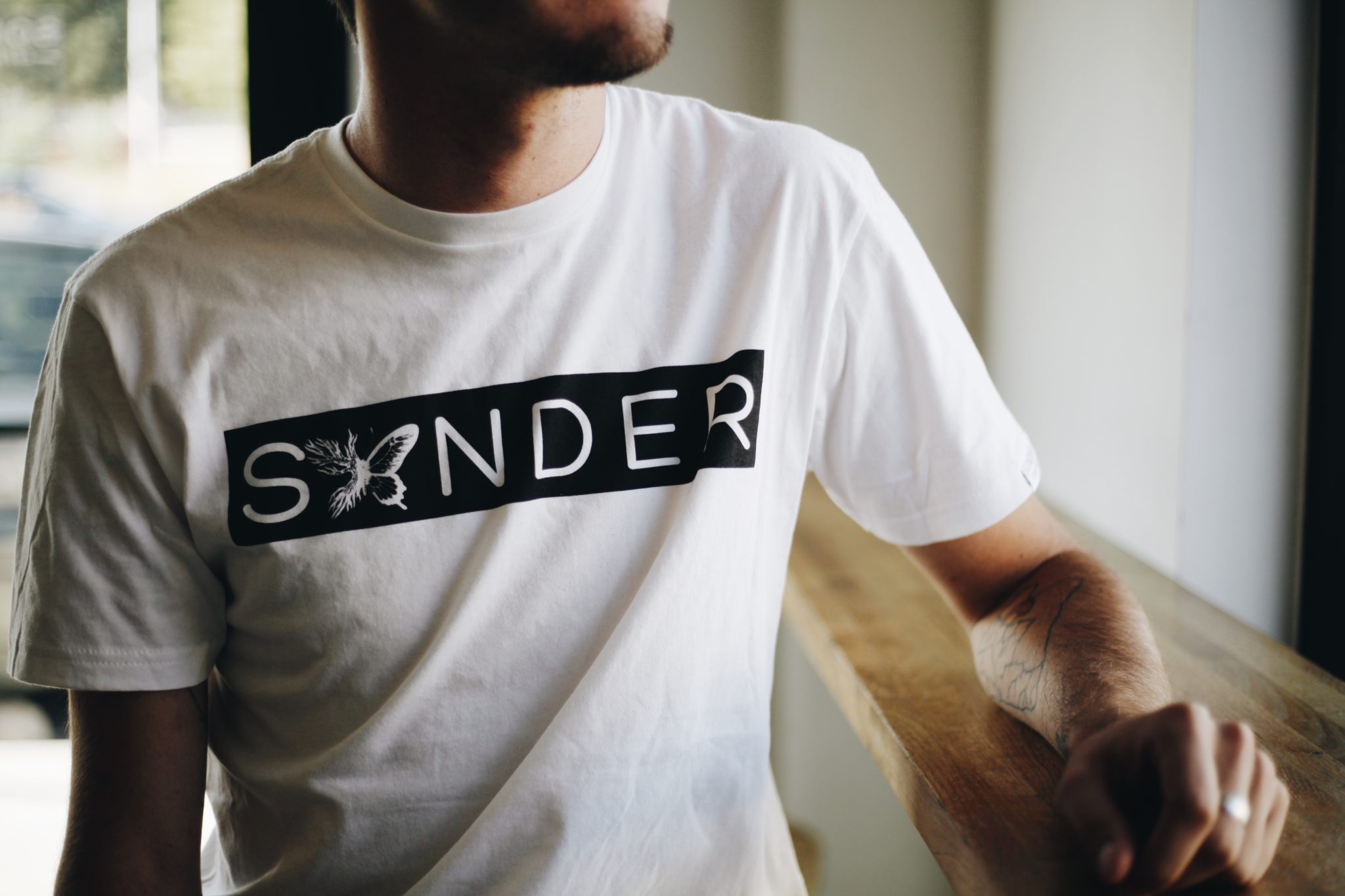 SONDER Coffee W&B Tee