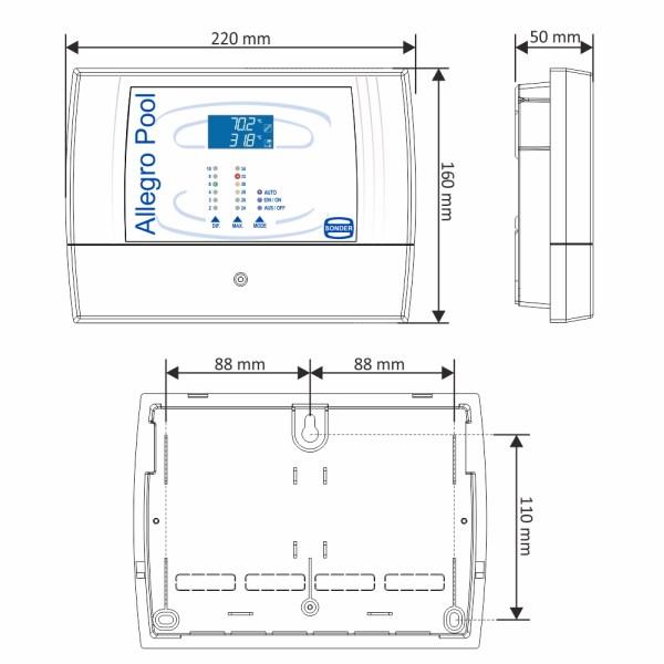 Allegro Pool medidas