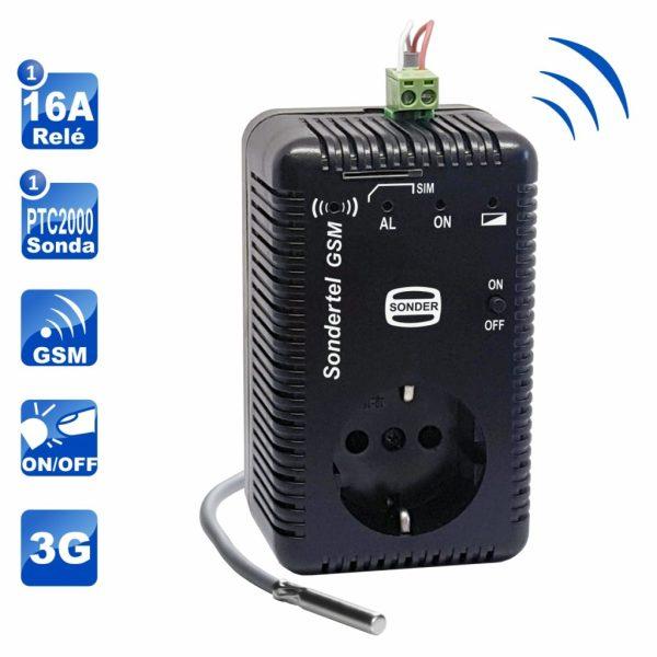 Control Telefónico GSM 3G