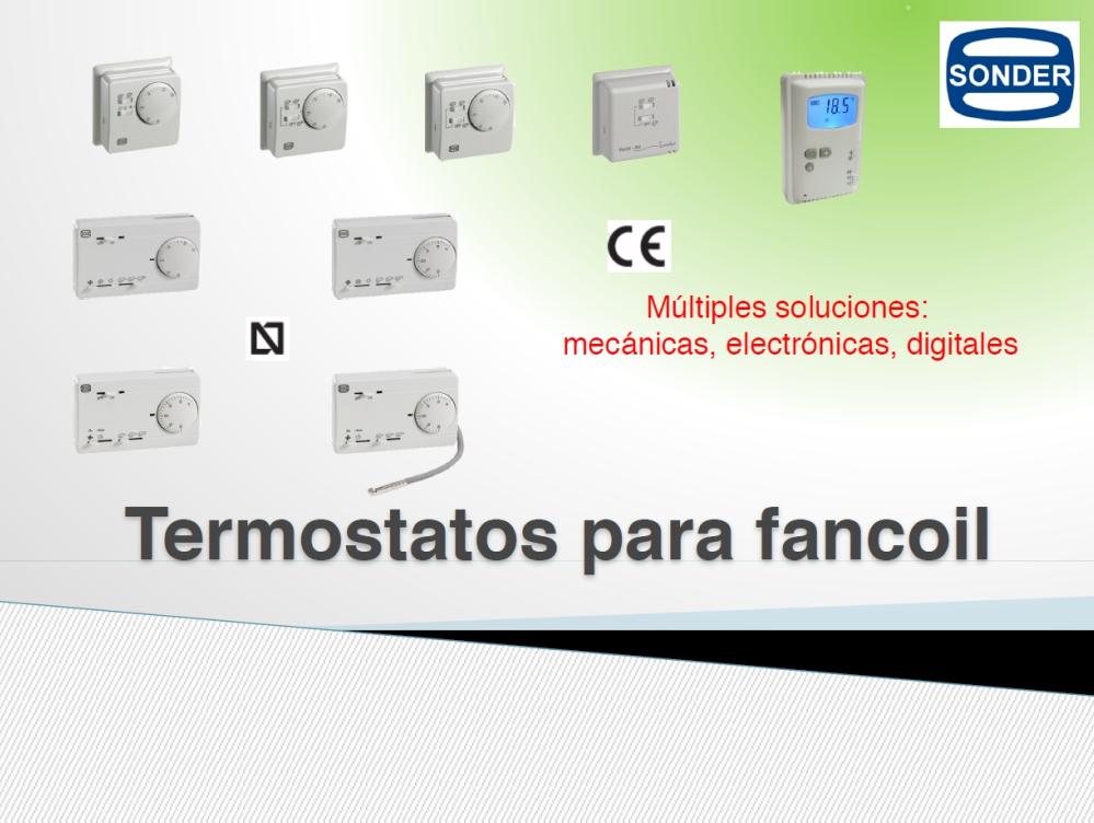 Presentación gama Fan-Coils