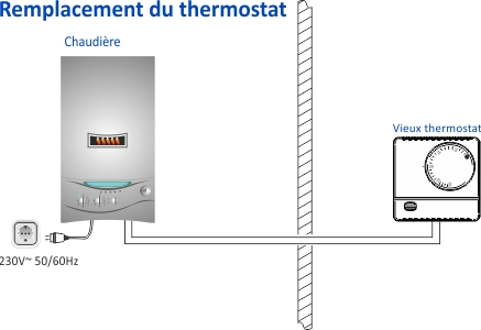 replacement du thermostat
