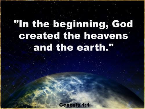 Genesis 1,1