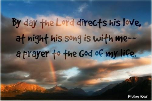 Psalm 42, 8