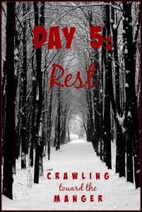 crawling toward the manger daily 5