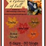 Festival of Fall- 2014 Blog Tour