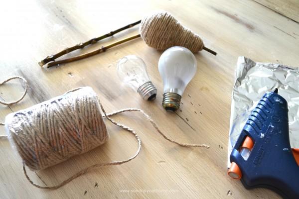 Twine Pears Tutorial- Supplies - Sondra Lyn at Home