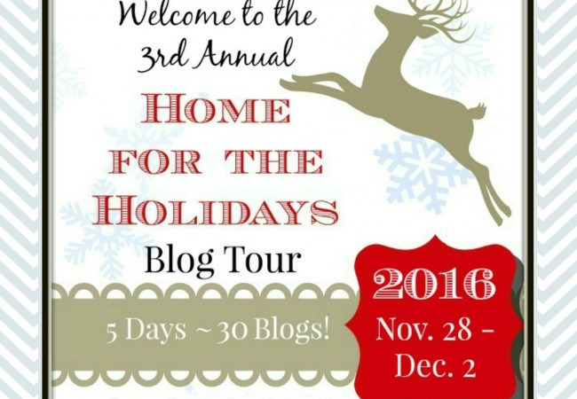 Home for the Holidays Blog Tour 2016