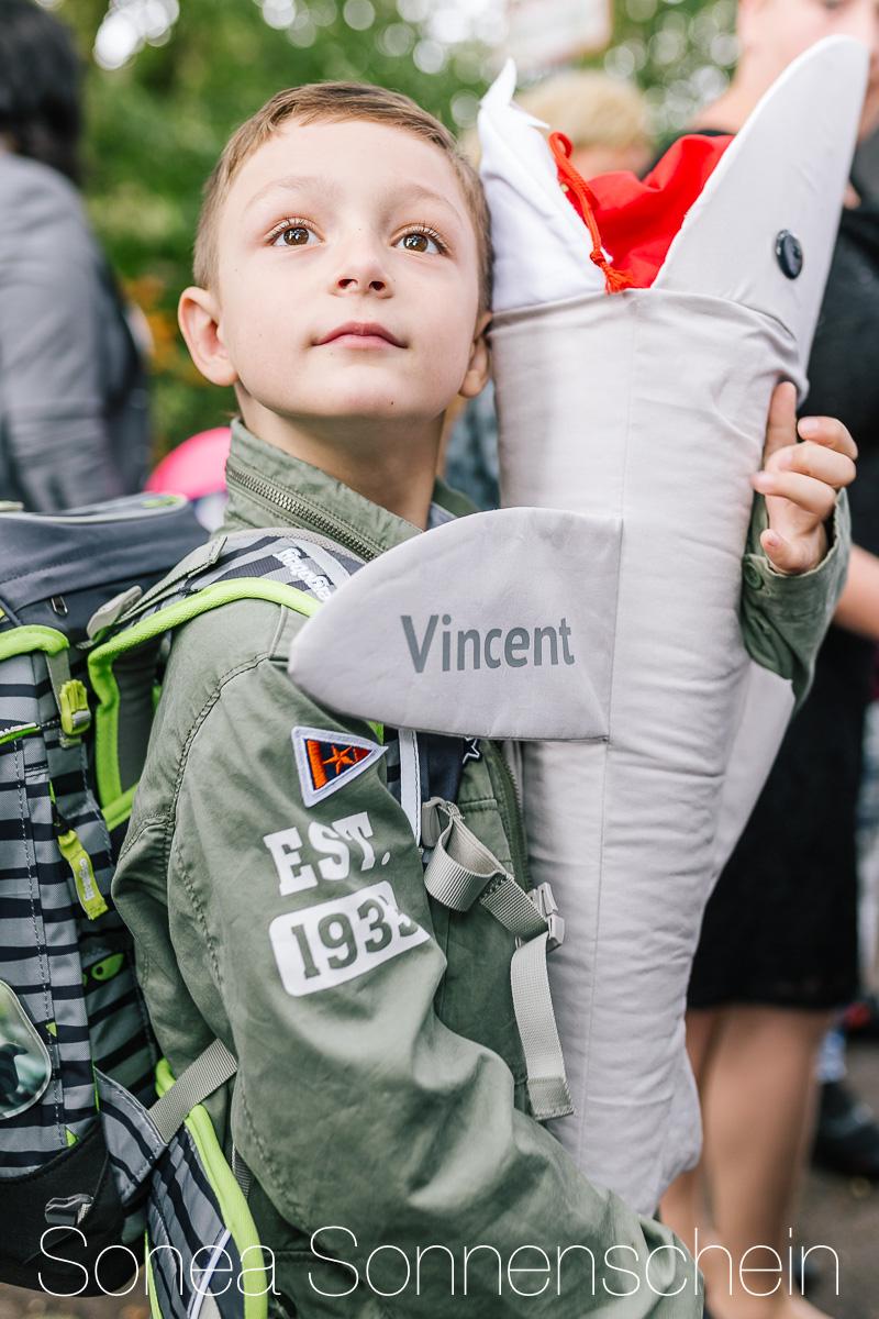 Vincents Einschulung mit Ergobag