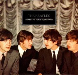 I Want to Hold Your Hand - The Beatles Single Cover