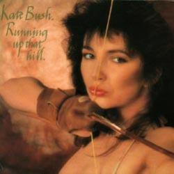 Running Up That Hill - Kate Bush Single cover