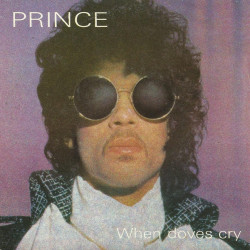When Dove Cry - Prince single cover