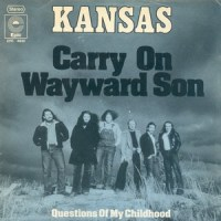 Carry On Wayward Son - Kansas single cover