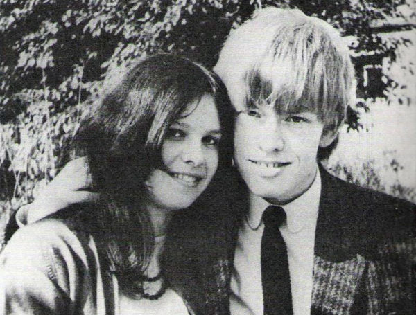 Linda Lawrence and Brian Jones
