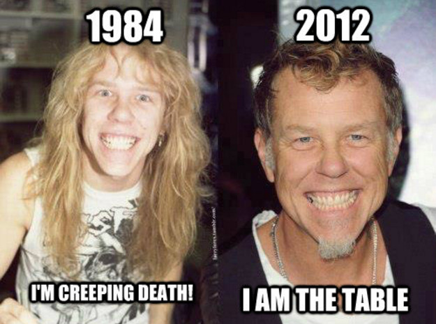 hetfield im table