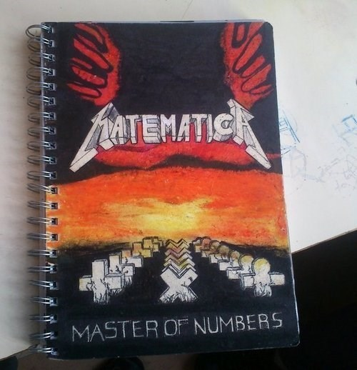 master of numbers - metallica