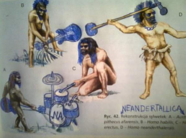 neandertallica meme
