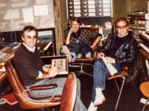 Giorgio Moroder, David Bowie, Paul Schrader
