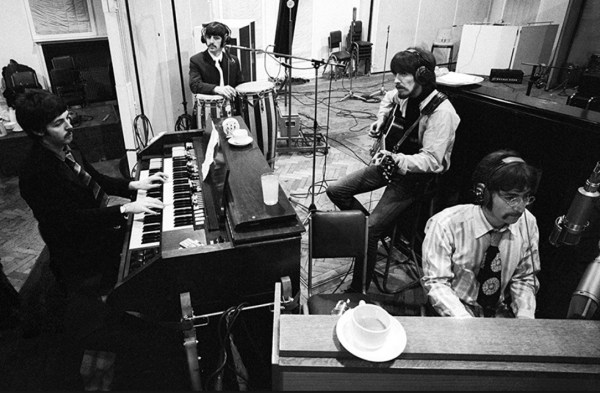 The Beatles in studio
