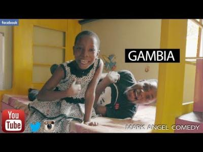 DOWNLOAD COMEDY VIDEO: Mark Angel Comedy - Gambia