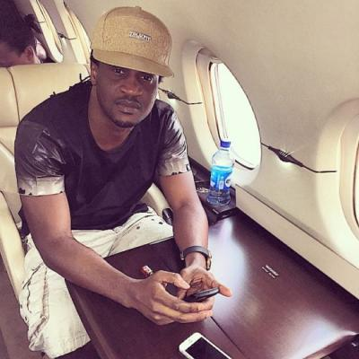 Paul Okoye Shares Photo Of Himself With His Twin Kids For The First Time