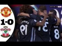 VIDEO : Manchester United vs Southampton 1 0 All Goals & Highlights 23 09 2017 HD