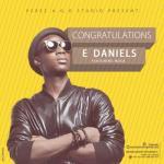 MP3 : E Daniels - Congratulations ft. Nosa