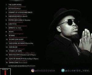 MP3 : Olamide - The Glory Intro