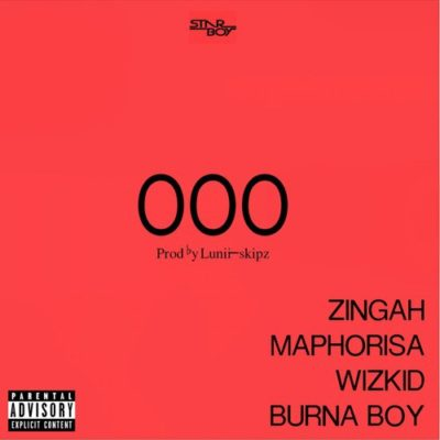 MP3 : Wizkid ft. Burna Boy, Zingah & Maphorisa - OOO