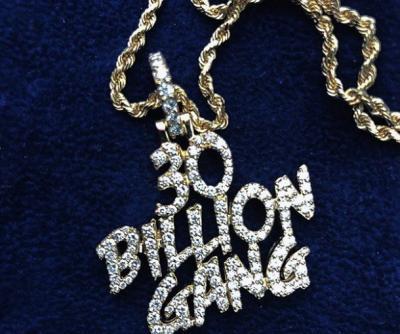 Mayorkun Receives Another 30BillionGang Chain From Davido