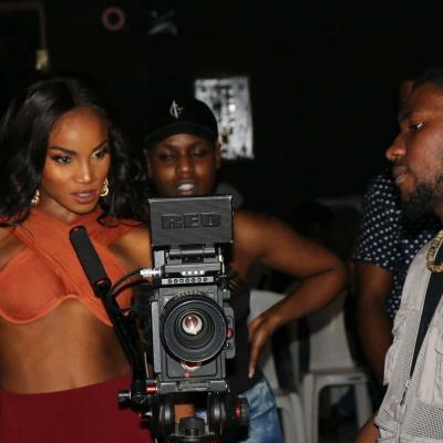 CHECKOUT: The B-T-S Photos From Seyi Shay's Trending Video for