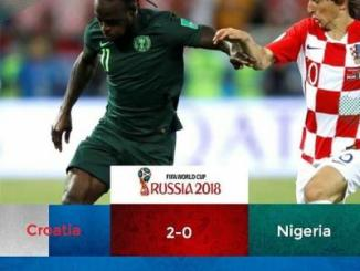 Victor Moses speaks up after Super Eagles Loss to Croatia