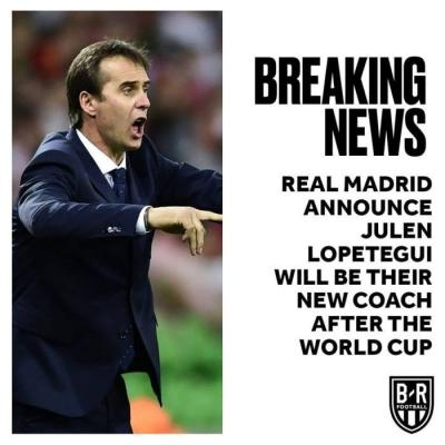 BREAKING! Real Madrid Announce New Manager After Zidane's Departure