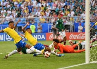 Neymar Stars As Brazil Beat Mexico To Reach Last Eight